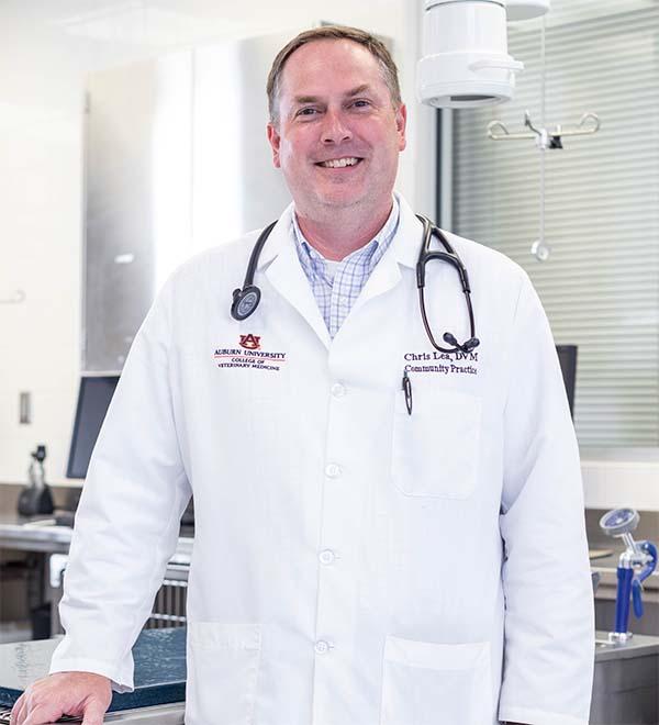 Dr. Christopher Lea, assistant clinical professor