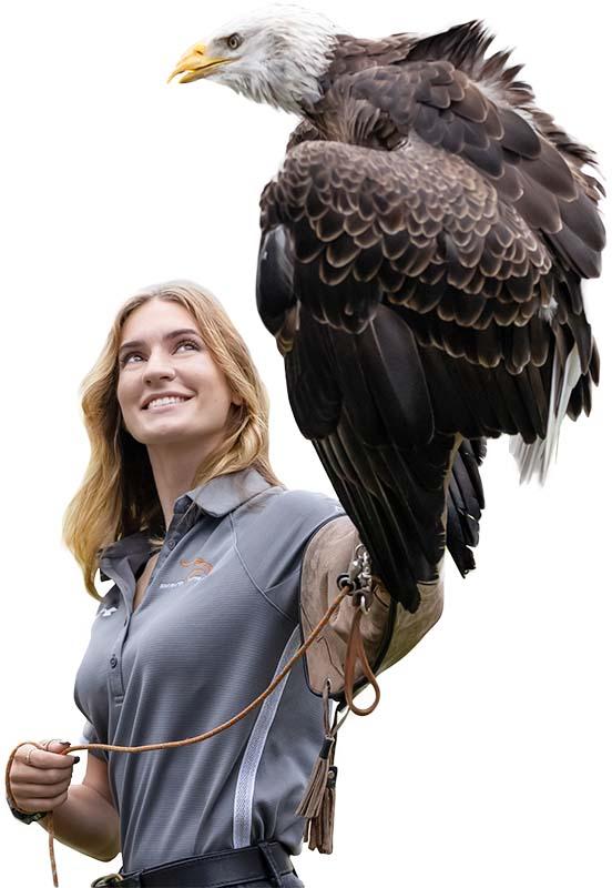 Justine Lohr with Spirit