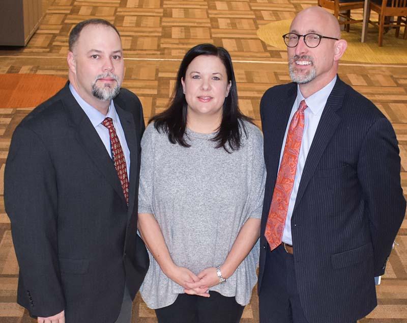 Glen Sellers, Dr. Misty Edmondson, and Dr. Dan Givens